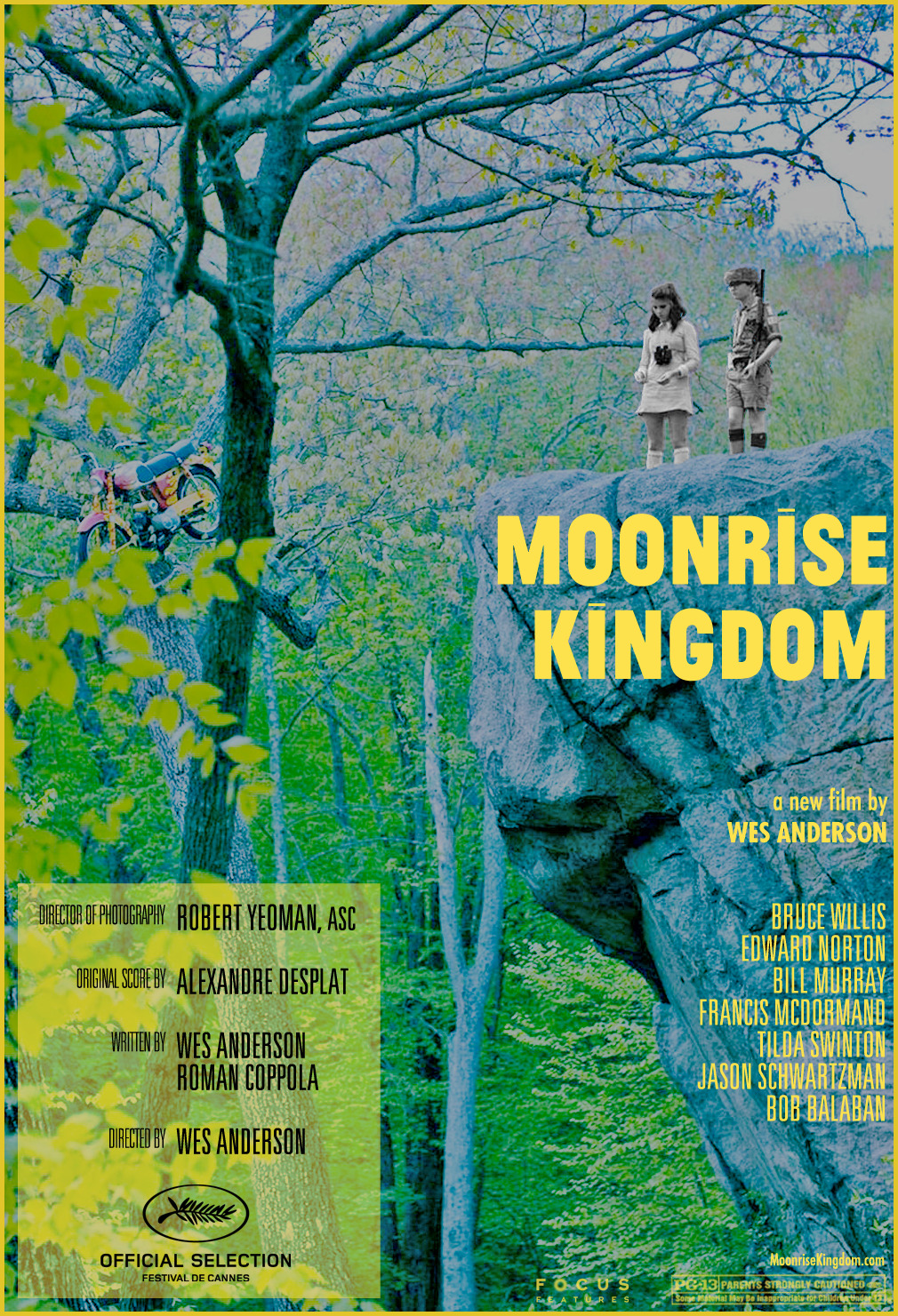 fuckyeahmovieposters:  Moonrise Kingdom by Andrew Yorke