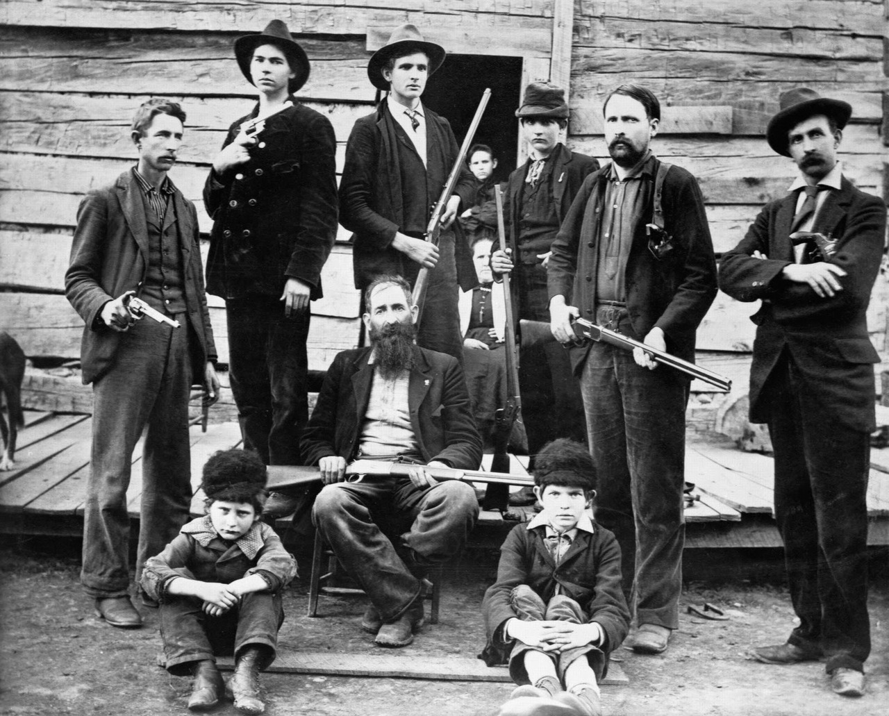 firsttimeuser:  The Hatfield clan in 1897