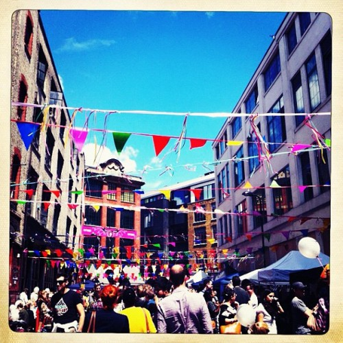 Amazing atmosphere at #jamiesstreetparty @jamieoliver! (Taken with Instagram at Jamie Oliver's Fifteen)