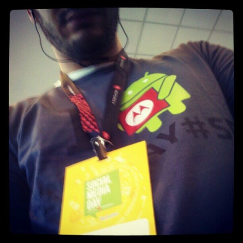 Ganhei uma camiseta do #SMDAY (Publicado com Instagram, no Social Media Day by Motorola)