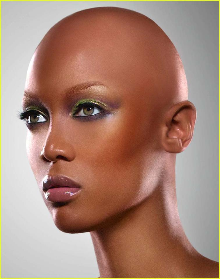 Tyra  -  Bald is BEAUTIFUL! #BeYOUty