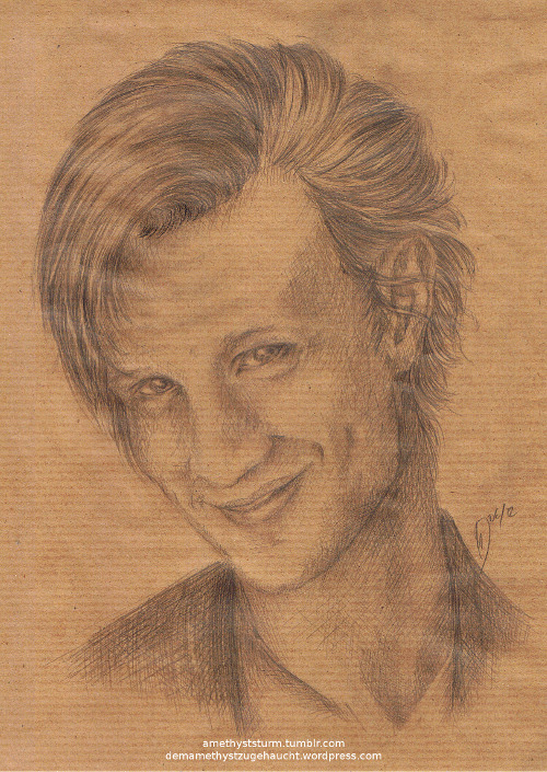 My first attempt to draw Matt Smith. I am quite satisfied.