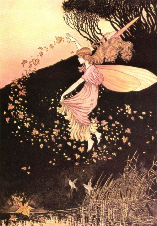 compatible-realities:  from Ida Rentoul Outhwaite's book, Elves and Fairies, published in 1916.