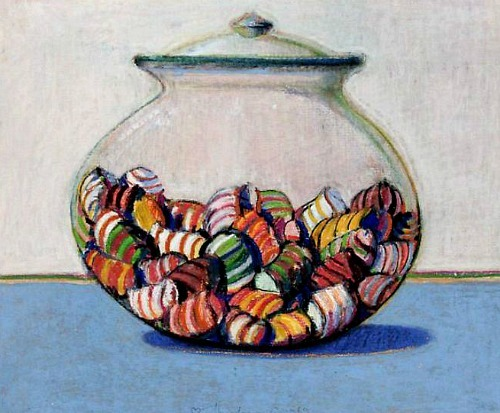 Wayne Thiebaud Glassed Candy 1969