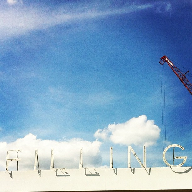 F i l l i n g  (Taken with Instagram at Central Saint Martin College of Art & Design (CSM Uni))