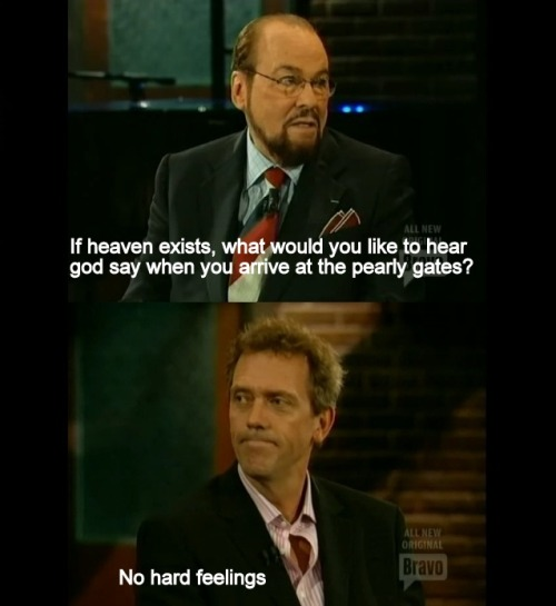 Hugh Laurie at the Pearly Gates http://bit.ly/LotqiC