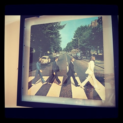 Original Beatles cover (Taken with Instagram)