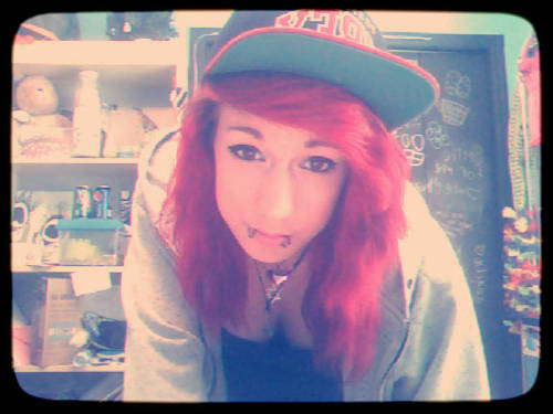 Hot Girls With Snapbacks… Damn. <3