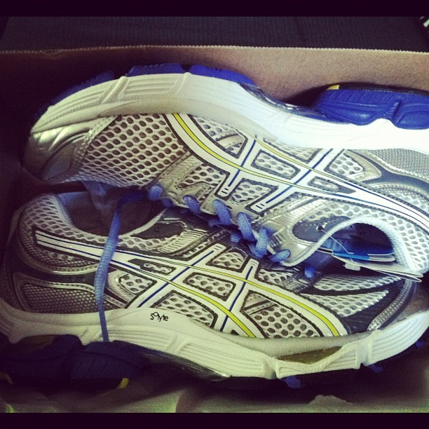 Fresh kicks for the Carson! #runnningswag (Taken with Instagram)