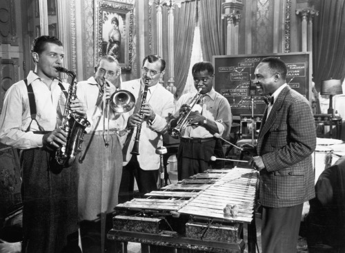Charlie Barnett, Tommy Dorsey, Benny Goodman, Louis Armstrong, Lionel Hampton A Song Is Born, 1948