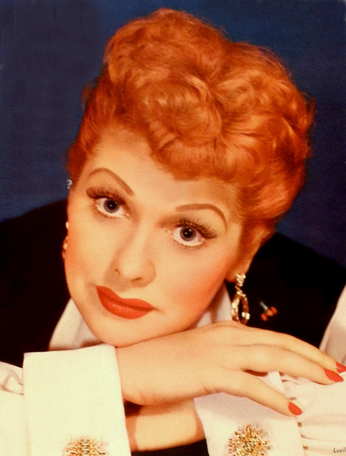 Lucille Ball on the cover of TV and Movie Screen Magazine, 1954