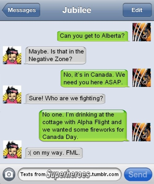 Happy Canada Day Tumblr!
