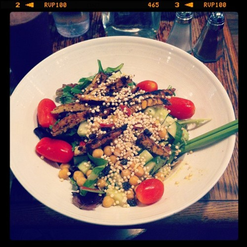 Super Protein Salad! #sofuckinggood #food #glutenfree  (Taken with Instagram at Fresh On Spadina)