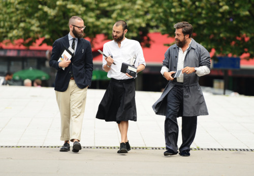 gqfashion:  Tommy Ton's Street Style: Paris Fashion Week