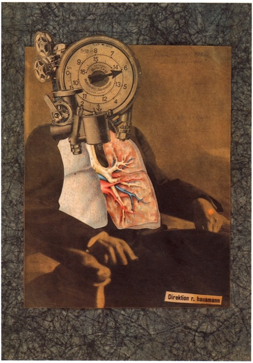 Self-Portrait of the Dadasoph, 1920, Raoul Hausmann
