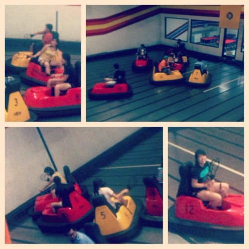first time at Whirlyball! :)) @hoimonjenny @smallasian #picstitch  (Taken with Instagram at Whirlyball Laserwhirld)
