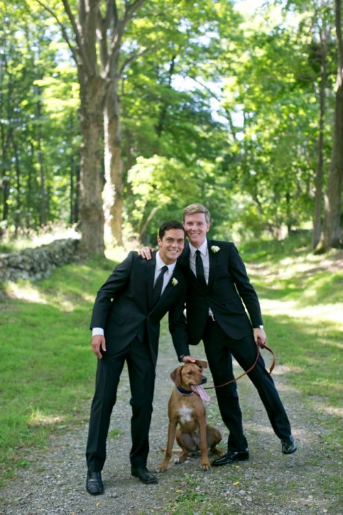 Congrats to Chris Hughes and Sean Eldridge on their wedding!
