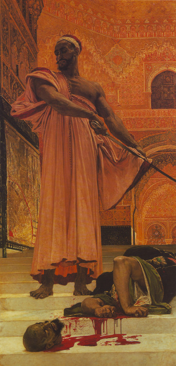 abinferis:  Henri Regnault-Execution without judgment under the Moorish Kings of Granada