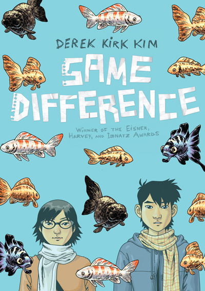 """Same Difference"" by Derek Kirk Kim.  Kim's story and images work together beautifully and the emotional punch of this story is subtle, sweet, funny, and sad all at once.  Check out this award winning graphic novel and follow Simon and Nancy around as they experience their quarter-life crisis."