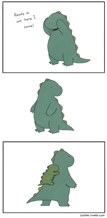 pessimismandfalsehood:  lizclimo:  hide and seek part two (part one)