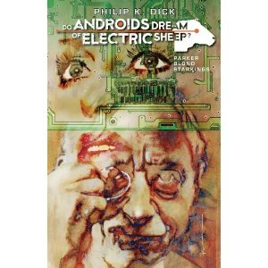 """Do Androids Dream of Electric Sheep"" written by Phillip K. Dick and illustrated by Tony Parker  A true acid trip of a novel, ""Androids"" was used as the basis for the sci-fi classic film ""Blade Runner,"" but the author's fans always complained that Ridley Scott's futuristic San Francisco was too different from Phillip K Dick's.  This fantastic adaptation uses Tony Parker's surreal illustrations to truly enhance the work, leading the reader along Rick Deckard's hunt for the six rogue androids in this twisted vision of humanity's future."