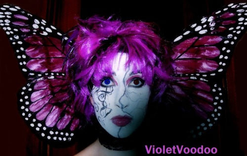 Personal: My Malice Mizer inspired makeup (I did this a few years ago for fun). Malice Mizer will always be my favourite band. note: I am wearing a wig. My real hair is long black curls.
