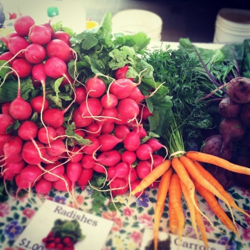Taken with Instagram at Eau Claire Farmer's Market