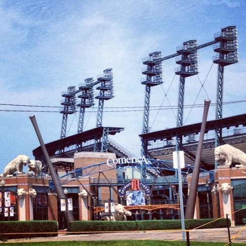 Tiger Stadium #Detroit (Taken with Instagram)