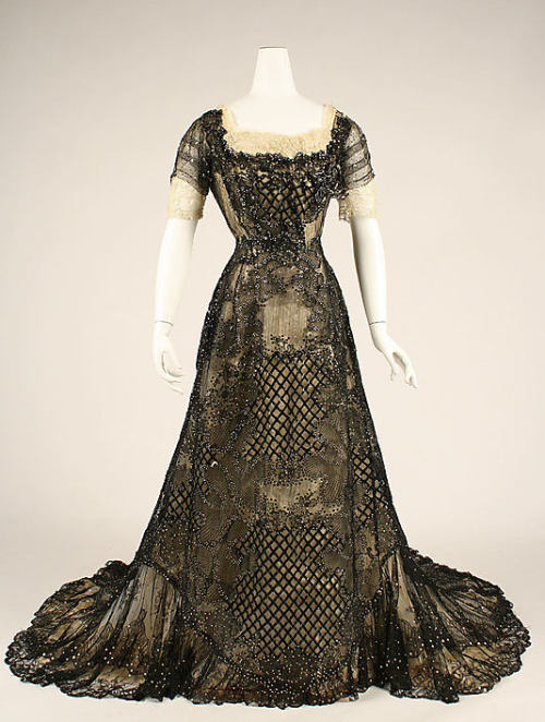 Evening Dress 1906-1908 The Metropolitan Museum of Art