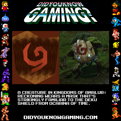 didyouknowgaming:  Kingdoms of Amalur: Reckoning.Submitted by Caio Prandini.