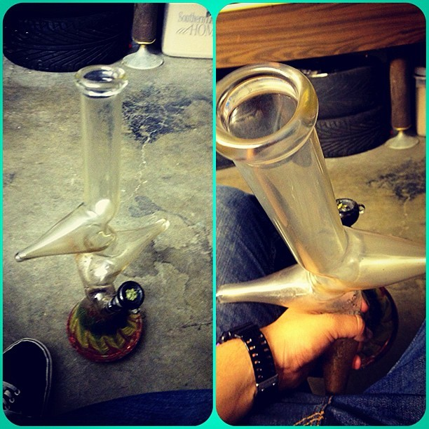 The homie @bluesubie_44 Zong was killing last night #zong #weed #dank #og #kush #fire #bong #tree #smoke  (Taken with Instagram)