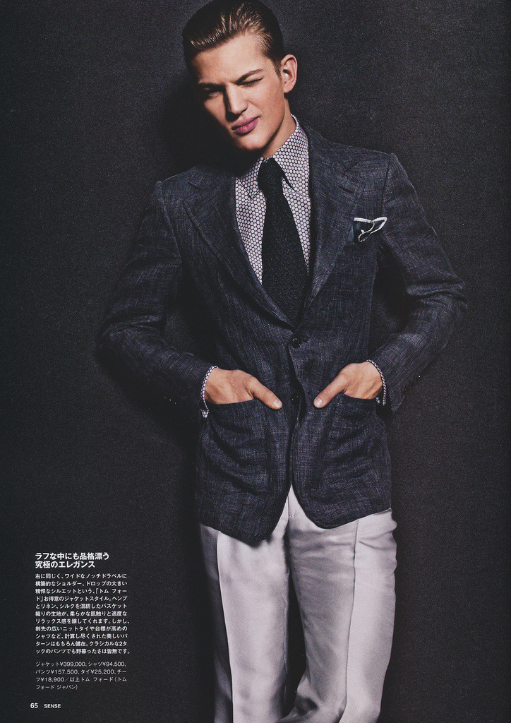 mensfashionworld:  Sense June 2012 editorial