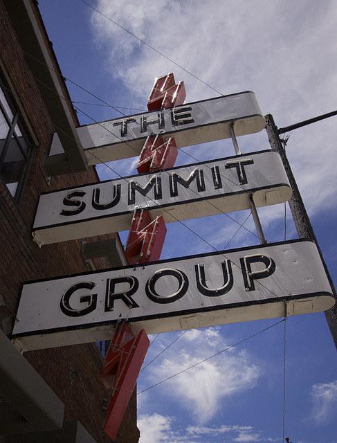 The Summit Group on Flickr.Liked this old sign in Salt Lake City…
