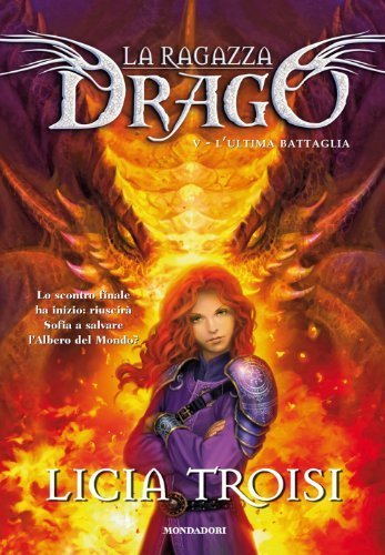 Books I want to read right now (2) LA RAGAZZA DRAGO , V vol. , L'ULTIMA BATTAGLIA  - di Licia Troisi  Probably she's my fav. writer of fantasy novel here in my Italy, but non the only one … :) L'Ultima Battaglia is the last volume.  I want this book for my birthday !