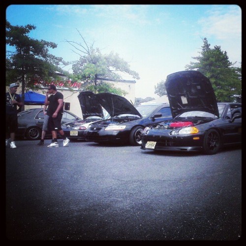 #BuiltToEnvy Car Show 2012.  #Imports #Honda #Accord #Civic #Crx #DelSol (Taken with Instagram)