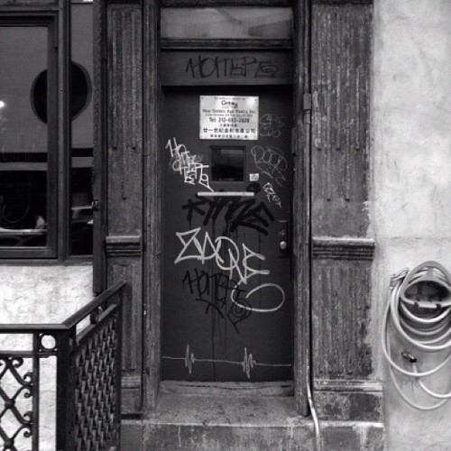 #ed #zaone #ekg #door (Taken with Instagram)