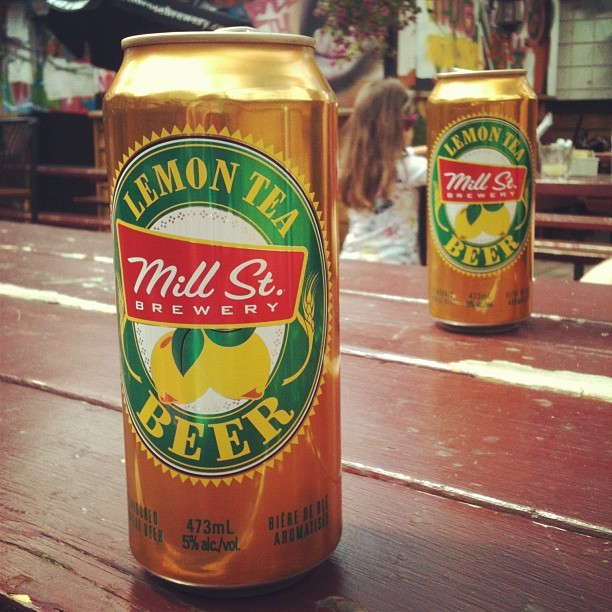 Mill St Lemon Tea Beer (Taken with Instagram at Broken City Social Club)
