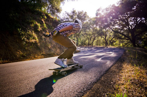 longboard californi downhill