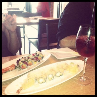#sushi #watawa #pauline #roll #nomnomnom (Taken with Instagram)