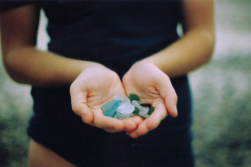 I miss sea glass…. I miss the sea
