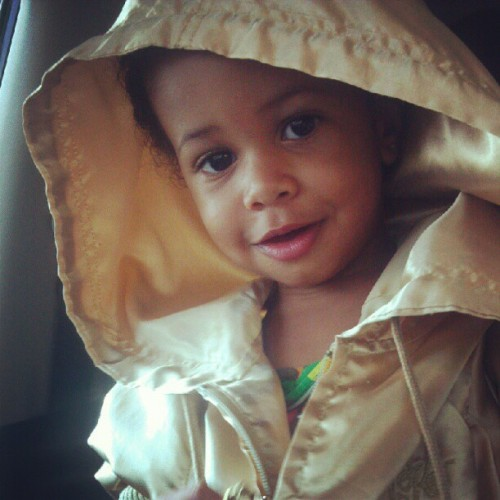 My niece / daughter has swagg #aunty nish nish #jacket lol (Taken with Instagram)