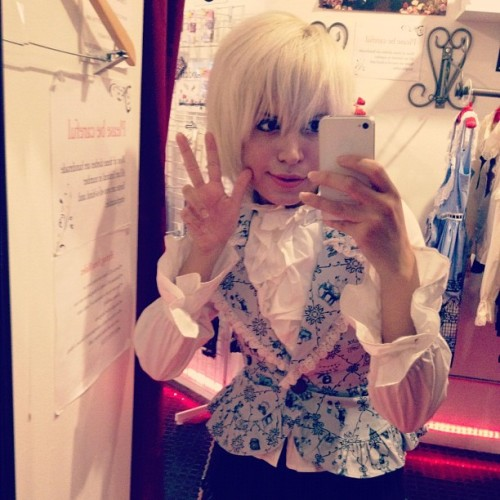 Kodona snap from my job on saturday~ Taken with Instagram at Tokyo Rebel