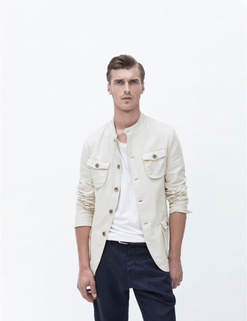 mensfashionworld:  Zara June 2012