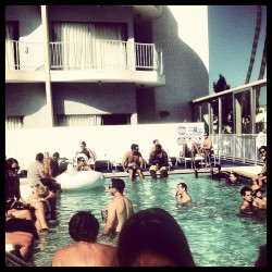 Just another Saturday in Hollywood. (Taken with Instagram at Pool at The Standard, Hollywood)