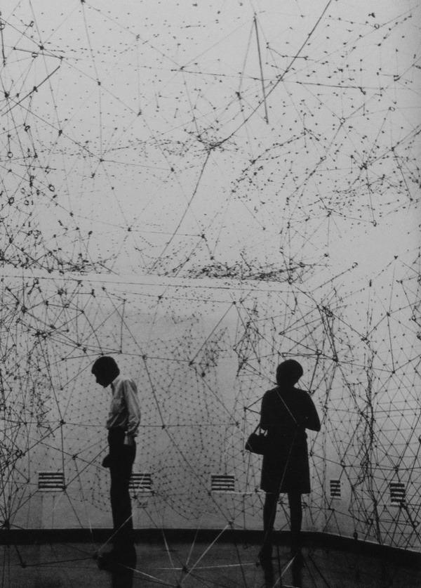 by Eva Hesse