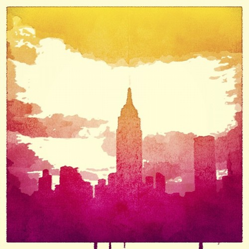#empirestatebuilding #popsicolor #app  (Taken with Instagram)