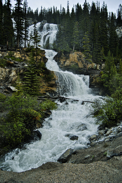 DSC_0876experimentwaterfall on Flickr. Columbia Ice Fields, Canada. Taken By Cole Weavers