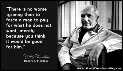 Robert Heinlein knew his stuff