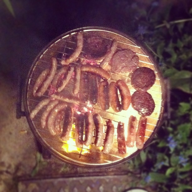 Bbq flames (Taken with Instagram)