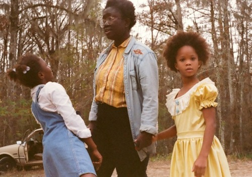 fyeahquvenzhanewallis:  Nuotama Frances Bodomo (middle) is a Ghanaian filmmaker based in New York City. She grew up on four continents—in Ghana, Norway, California, and Hong Kong—before moving to New York to attend Columbia University as a Kluge Scholar. She received her B.A. in English Literature and Film Studies in 2010. Her thesis focused on making African-generated images part of the popular image of Africa. Her work features doppelgangers, imaginary friends, ventriloquist dummies, and the un-institutionalized crazies who constantly break society's view of itself.Her ultimate goal is to make conceptually strong films that bring African images to the forefront. She is currently an MFA Candidate and Dean's Fellow at NYU's Graduate Film Program. She was inspired to make Boneshaker for a generation of kids that have nowhere to call home. You can read more about her inspirations for Boneshaker here: HerFilm InterviewMORE Quvenzhane Wallis with the director and a fellow castmate on the set of her new film Boneshaker.  I want to know more. Immediately.